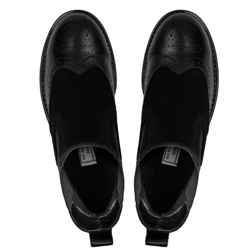 "RABBIT LOAFERS  - Онлайн магазин женской и мужской обуви ЧЕЛСИ ЖЕНСКИЕ ""BLACK STREET"" 00003"