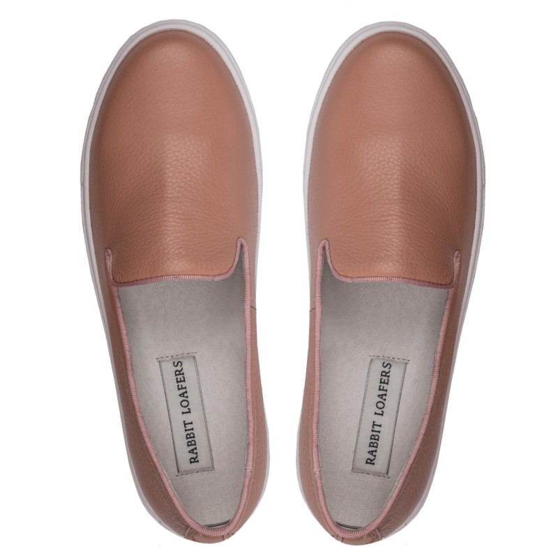 "RABBIT LOAFERS  - Онлайн магазин женской и мужской обуви ЛОФЕРЫ ЖЕНСКИЕ ""SPORT PINK"" RLW-110-018"