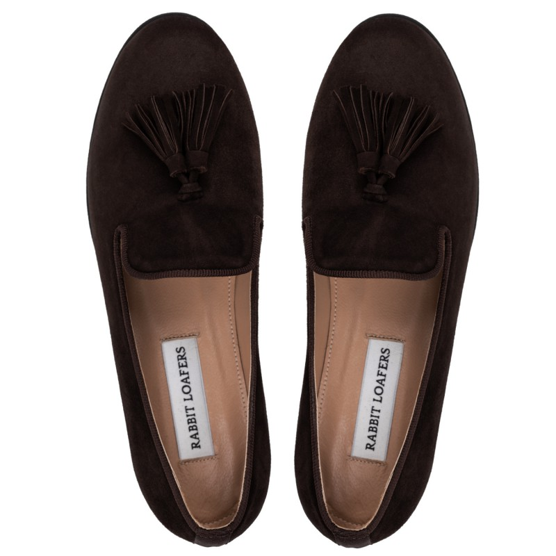 "RABBIT LOAFERS  - Онлайн магазин женской и мужской обуви ЛОФЕРЫ ЖЕНСКИЕ ""VENTA BROWN"" RLW-110-992"