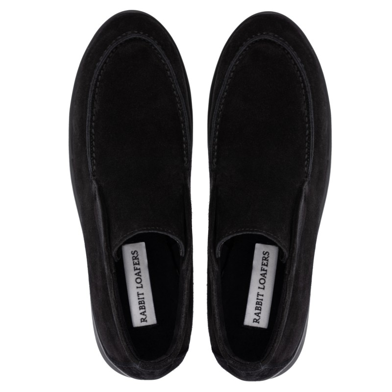 """RABBIT LOAFERS - SHOP ONLINE WOMAN'S LOAFERS, color """"LOTTA BLACK"""" RLW-110-984"""