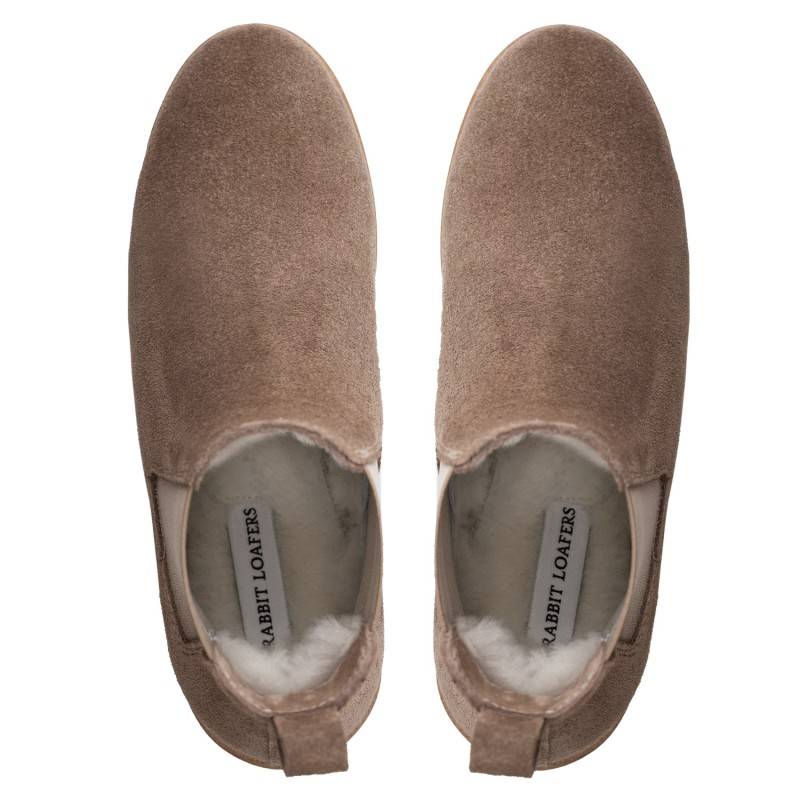 "RABBIT LOAFERS  - Онлайн магазин женской и мужской обуви ЧЕЛСИ ЖЕНСКИЕ ""TOLNA BEIGE"" RLW-110-951"