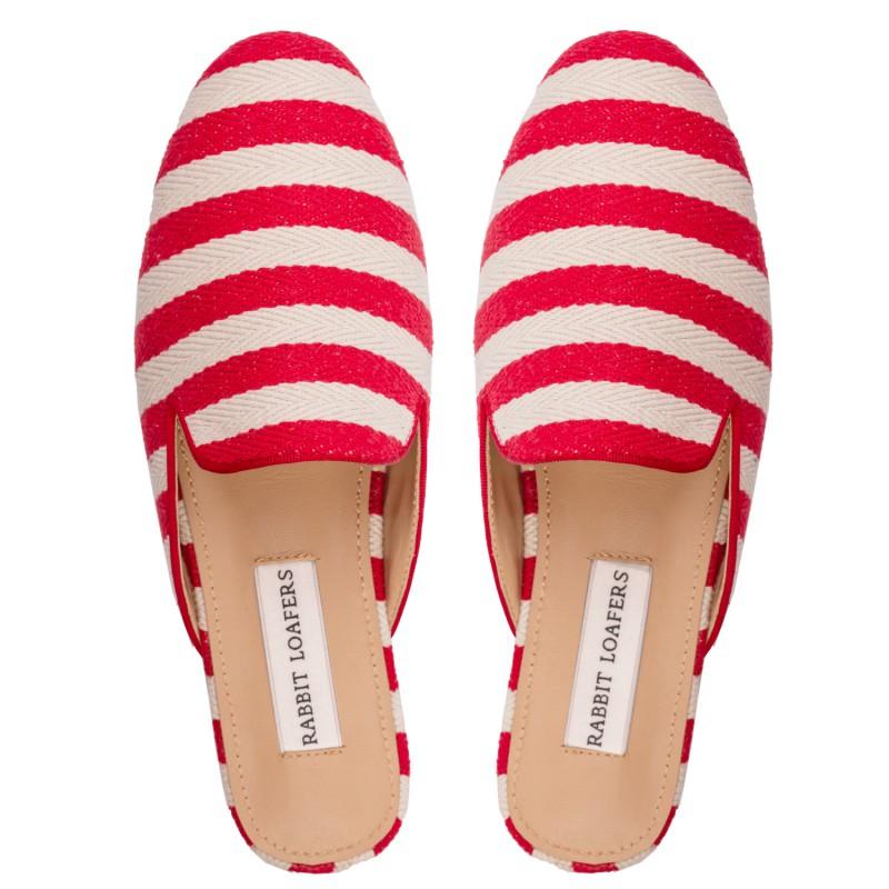 "RABBIT LOAFERS  - Онлайн магазин женской и мужской обуви МЮЛИ ЖЕНСКИЕ ""SAND RED"" RLW-109-561"